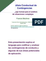 Análisis Conductual de Contingencias (Trad. María Hernández Pozo)