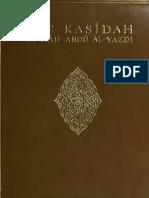 Book - The Kasidah, Muslim Sufi Poetry - Sir R.F. Burton