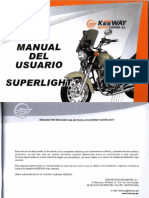 Manual Usuario Keeway SuperLight 125 CC
