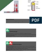 Tipos de Extintores