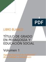 libro blanco de pedagogia