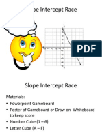 Slope Intercept Gameboard