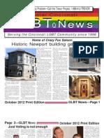 GLBT News October 2012