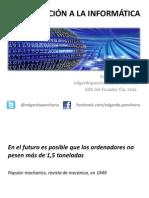 Introduccion a La Informatica - Encuadre