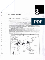 La Nueva España. Unidad 3