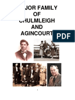 Major Family of Chulmleigh, Devon, and Agincourt, Ontario