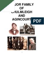 Major Family of Chulmleigh, Devon, and Agincourt, Ontario