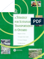 A Strategy for Sustainable Transportation in Ontario