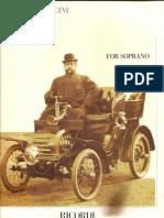 Arias for Soprano-giacomo Puccini