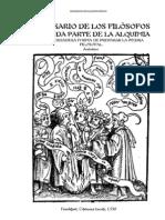 ( Rosarium Philosophorum) El Rosario de Los Filosofos