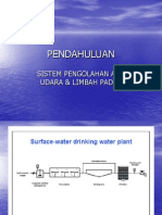 Sistem Pengolahan Air Udara Limbah Padat