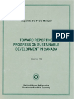 Toward Reporting Progress on Sustainable Development