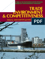 Trade, Environment and Competitiveness