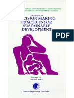 Decision Making Practices for Sustainable Development