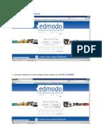 EDMODO Step by Step