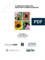 North American Bumblebee Species Conservation Planning Workshop