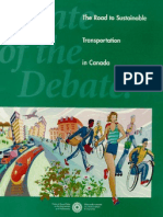 The Road to Sustainable Transportation in Canada