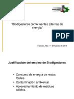 Biodigestores Como Fuentes Alternas de Energia[1]