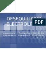 desequilibrio electrolitico