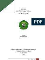 MAKALAH BTT SYMPETALAE