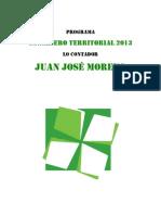 Programa CT Juan José Moreno NAU