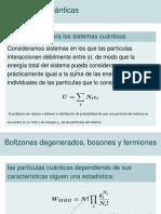 Las estadísticas cuánticas