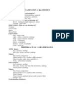 Abdomen Perif Vasc Student Exam Form