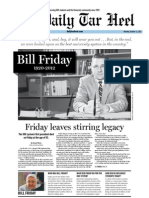 The Daily Tar Heel for October 15, 2012