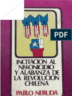 INCITACION AL NIXONICIDIO - PABLO NERUDA