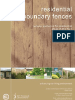 Fences Resindential