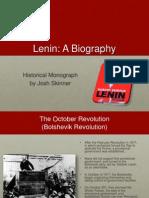 Lenin a Biography
