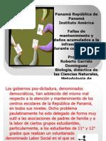 labor social mantenimiento en el Instituto América 2012