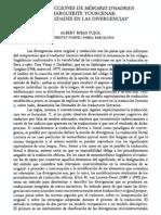 Las Traducciones de Memoires d'Hadrien