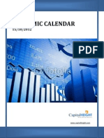 U.S.Economic Calendar 15-10-2012