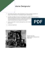 Istoria Designului