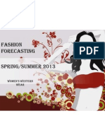 fashion forcasting 2013