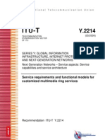 ITU-T Y.2214 - Customized Multimedia Ring Services