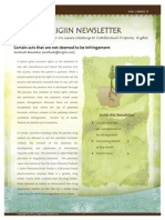 Origiin Newsletter Oct 2012