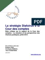 Note atterrée sur le rapport de la Cour des comptes, juillet 2012