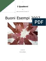 Buoni esempi 2007