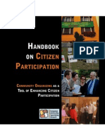 ECON Handbook on citizen participation and community organizing