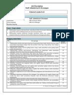 Staff Administrasi & Keuangan