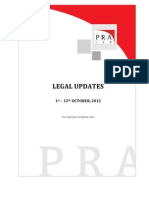 PRA Law Update - Oct. 1-12, '12