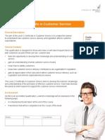Customer Service_Course Info