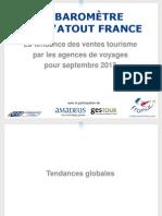 Snav Activité de distribution de voyages  Sept2012