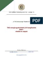 Chi Kung elmélete és alapjai _tanfolyami segédanyag_ábrákkal