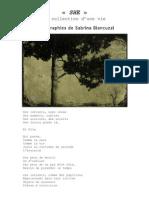Sabrina Biancuzzi - dossier de presse