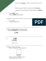 Soalan Matematik Tahun 3 Akhir Tahun 2012