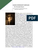 """""""El preconcepto revolucionario"""" (1918/1919) Por Fernando Pessoa (Introducción y Traducción"""