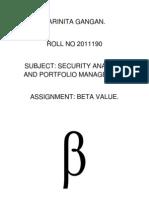 Beta Assignment Pari